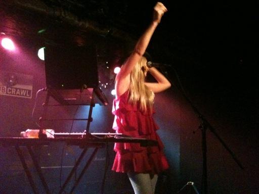 昨日のライブ、iPhone写