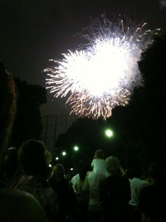 神宮花火。